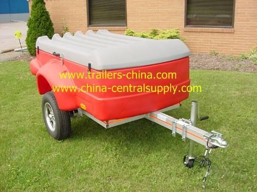Fiberglass trailer  poly trailer