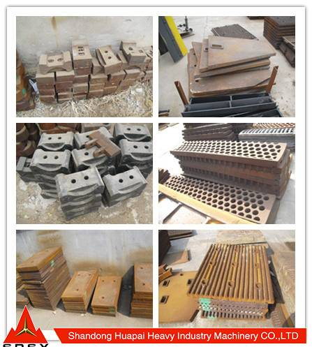 Investment casting/high manganese steel