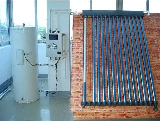 separated solar water heater system