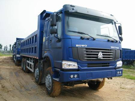 HOWO tipper/6*6 dump truck/high quality and low price