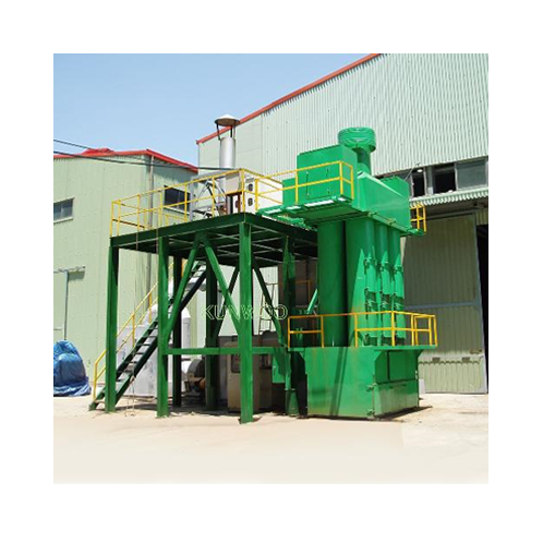 Air Pollution Control System. Dust Collector
