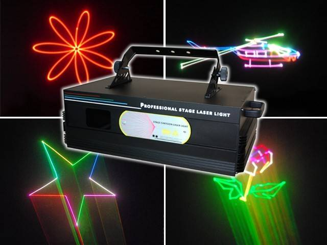 animation laser light,animated laser light,stage laser light,3W RGB Laser Light