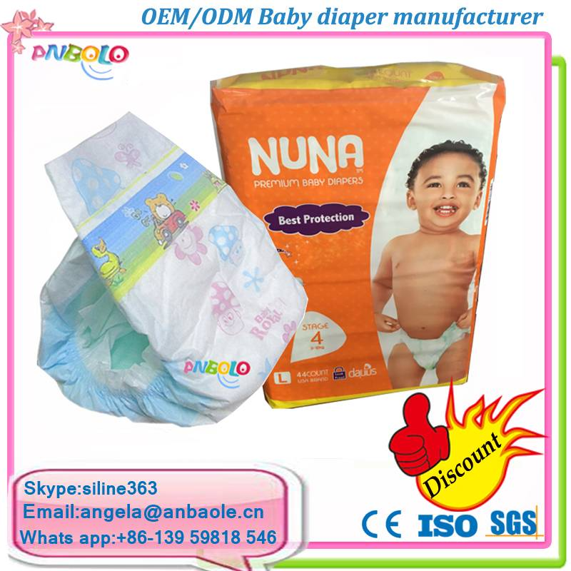 Good Quality Dispossible Wholesale Baby Diapers In Bales