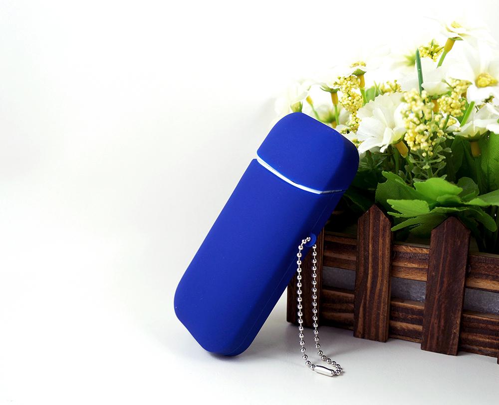 Dark Blue Silica Gel IQOS Case Cover TPU