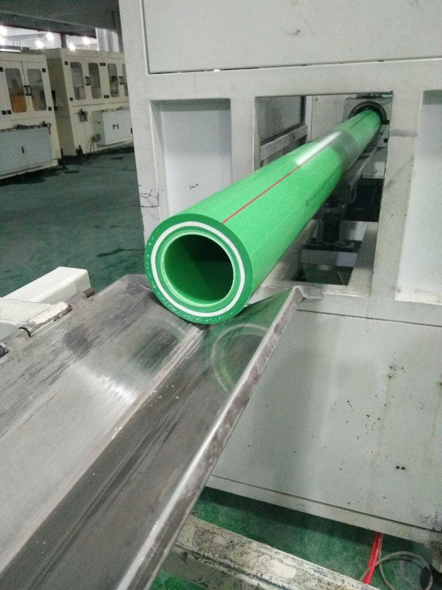 Green/Gray/White PP-R Plastic Tubes and Fittings