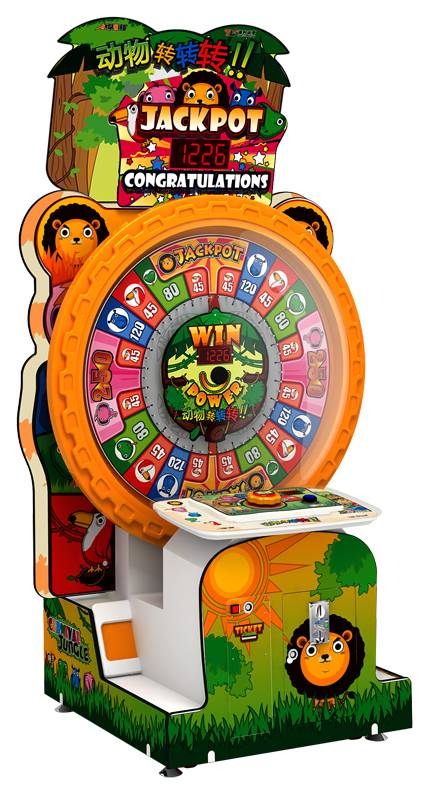Carnival jungle redemption game machine