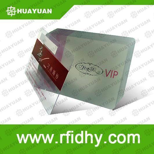 Transparent Card & Paper Card& Plastic Card