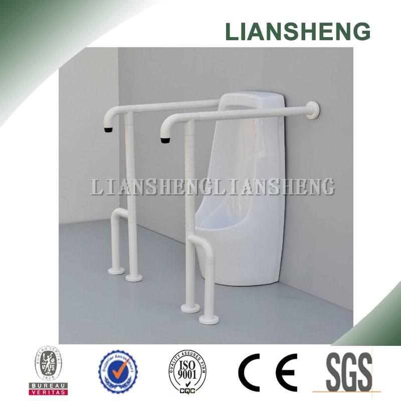 Stainless steel toilet handicap grab bar