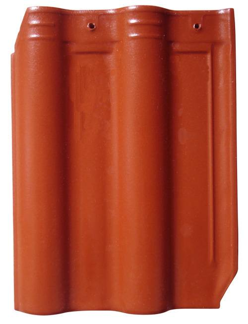 bevel angle clay roof tile on sale