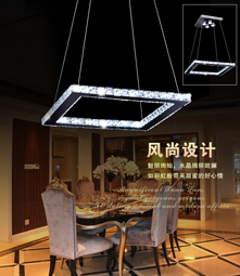 Novelty led pendant lighting fixture chandelier light