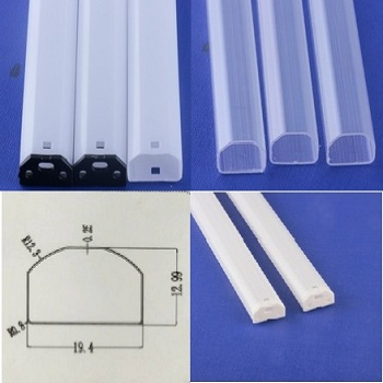 baiwei factory directly sales PC driver sleeve for led tube light