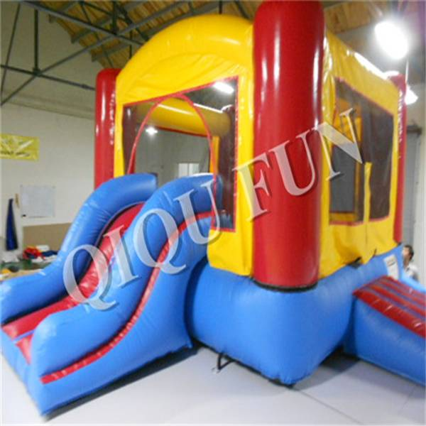 mini inflatable bounce house combo for kids