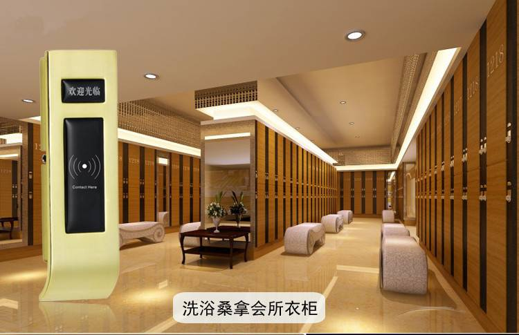 Chinese design Low Rf 125Khz Card Electric Wireless Sauna door lock Hotel Cabinet lock