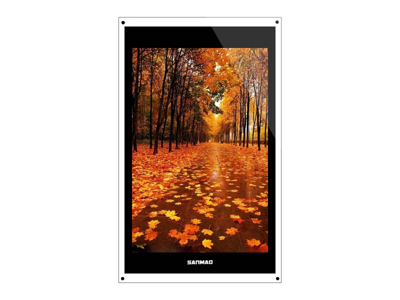 SANMAO 42 Inch Square HD 1920*1080 Floor Standing Lcd Advertising Media Player Machine