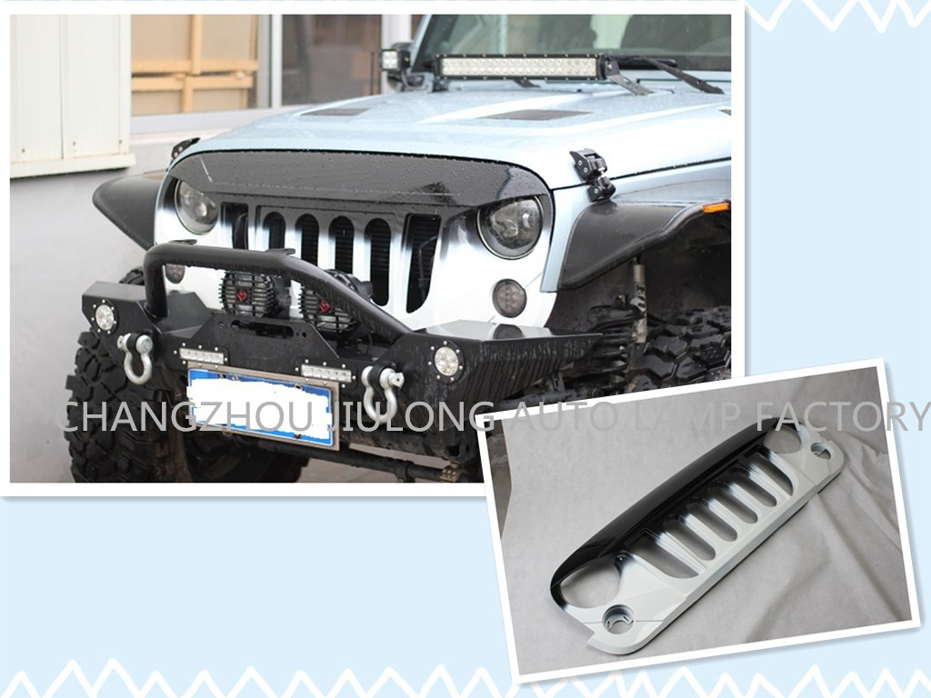 Automobile spare parts-Jeep Wrangler Parts-Grille-Jeep Wrangler Transformers Grille 2007
