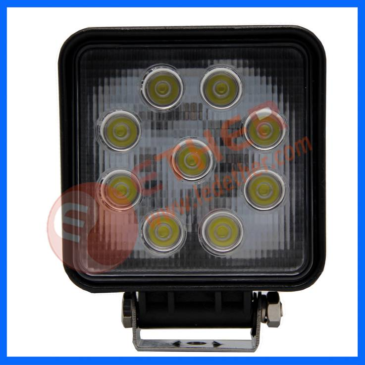 high intensity LEDs square LED Work Light