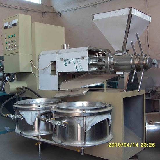Automatic peanut oil press machine
