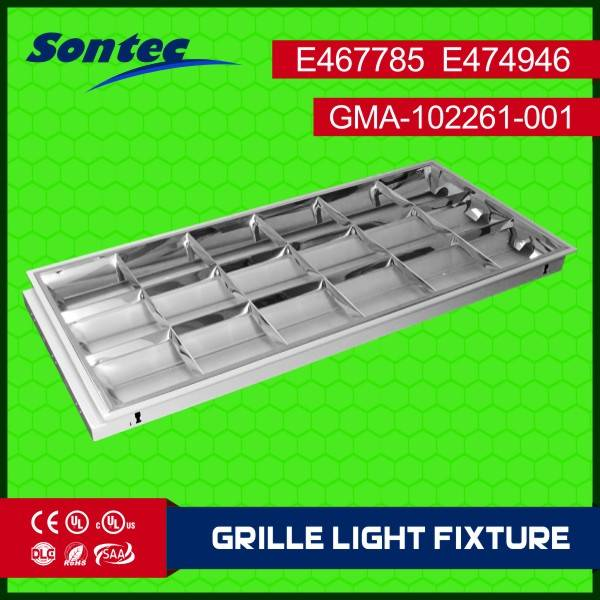 4ftx2ft type recessed mounted type Louver fixture UL approved