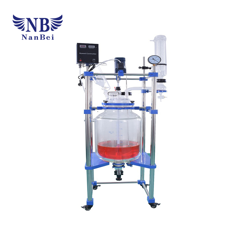 Lab Chemical Jacketed Glass Reactor