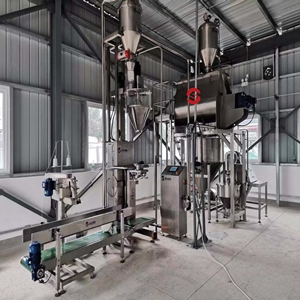 Coffee powder production line manufacture