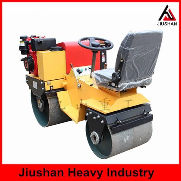 JS-YL-700J Seat type double drum roller