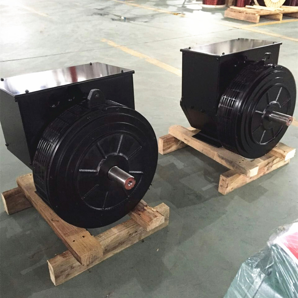 Three phase brushless ac alternator generator 6.5kw double bearing