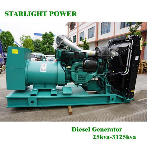 Hot Sale 300kw Volvo Diesel Power Generators/ Generator set