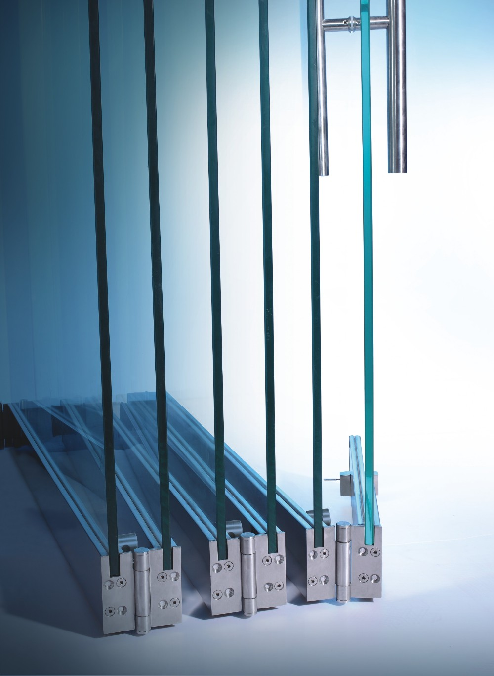 Door Designs Frameless Glass Folding Door Sliding Folding Partitions