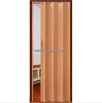 PVC folded bath door