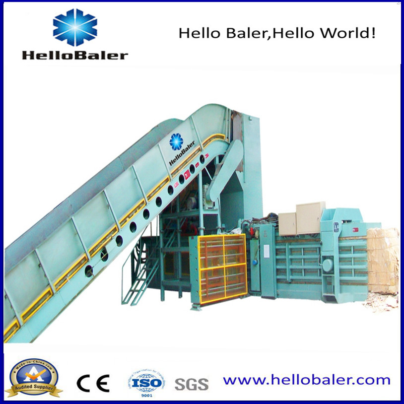 High Capacity Automatic Hydraulic Press Machine from Hellobaler