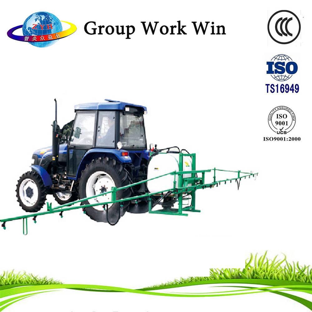 Agricultural self propelled diesel engine boom sprayer