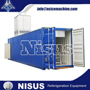 NISUS CONTAINERIZED ICE BLOCK MACHINE