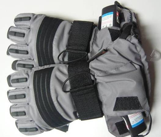 2200mAh New Electronics Warming Gloves Heated Gloves