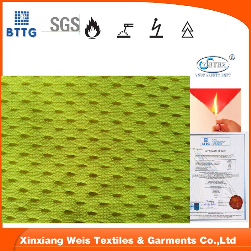 fireproof modacrylic cotton fabric for safety workwear