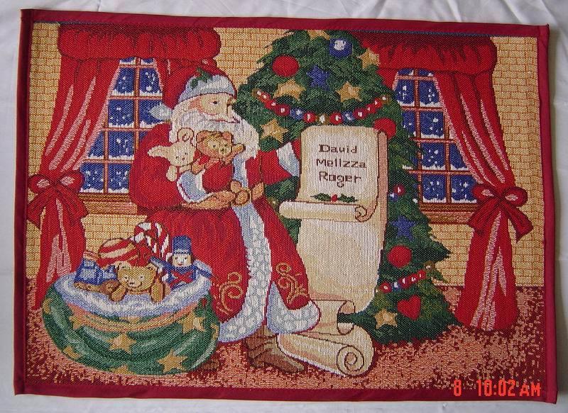 door mat, jacquard floor cover, christmas door mat