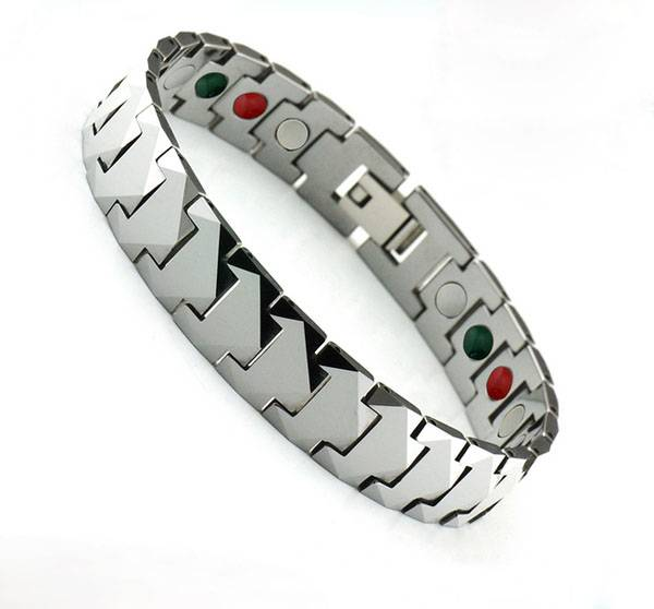 Various Health Benefits Negative Ion Far Infrared Ray Bracelet Bio Magnetic Bracelet