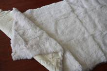 top quality rabbit fur blanket for sale