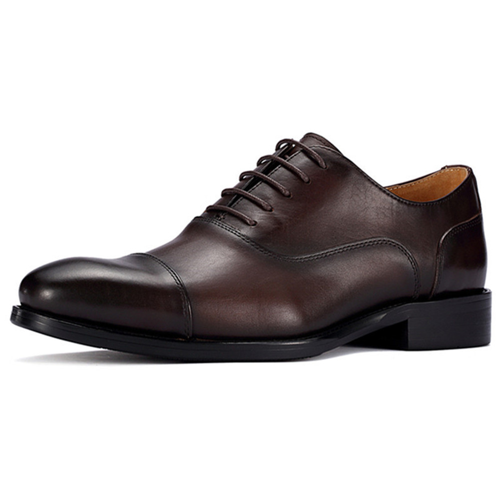men height increasing shoes leather