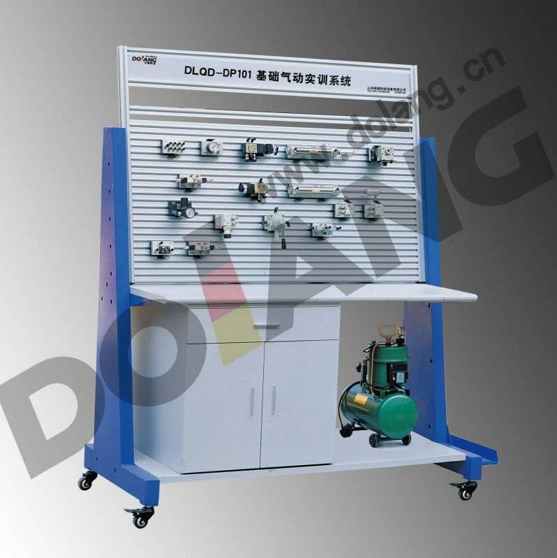 Didactic Educational equipment, vocational Teaching Training Equipment, Basic Pneumatics Trainer Tra