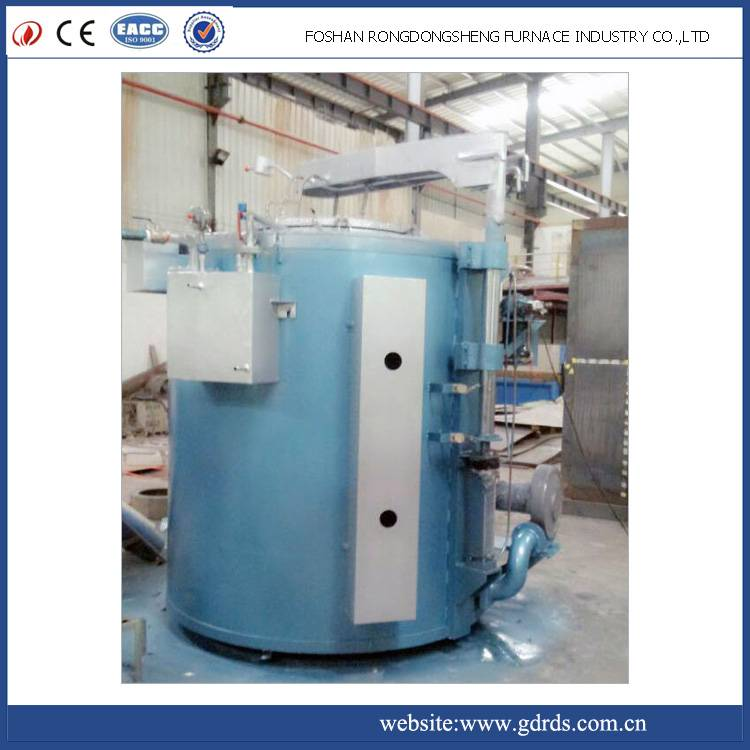 pit type gas vacuum bright annealing furnace vacuum for copper wire and stainless steel wire