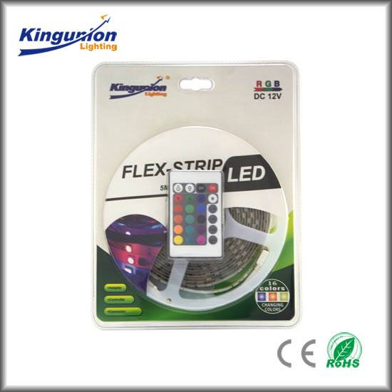 Shenzhen factory Red Green Blue emitting Color 60leds strip lighting 4000k led strip 3528 light