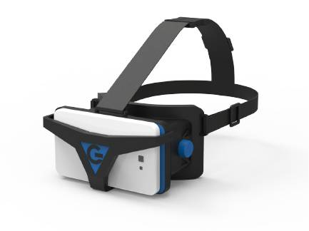 The Cheapest VR Glass 3D glass  headset for VR life made in china