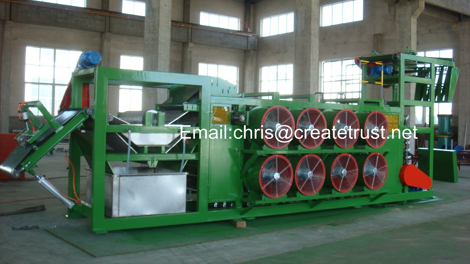 rubber sheet batch off cooler/batch off cooling machine