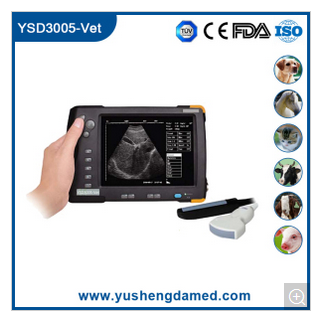 Ce New Version Portable Handheld Medical Equipment Veterinary Ultrasound Scanner YSD3005-Vet