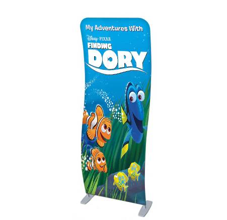 Factory direct wholesale tension fabric exhibition booth pop up displays