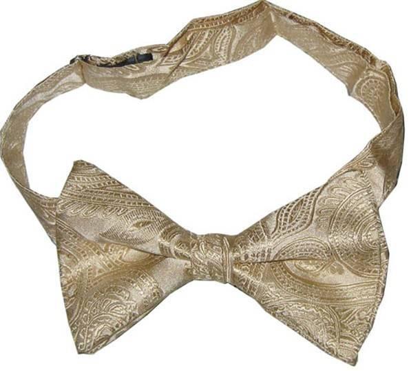 Silk Woven Bowtie (WBS018)