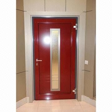 Aluminium profile for doors and windows with electrophoretic coating surface treatment