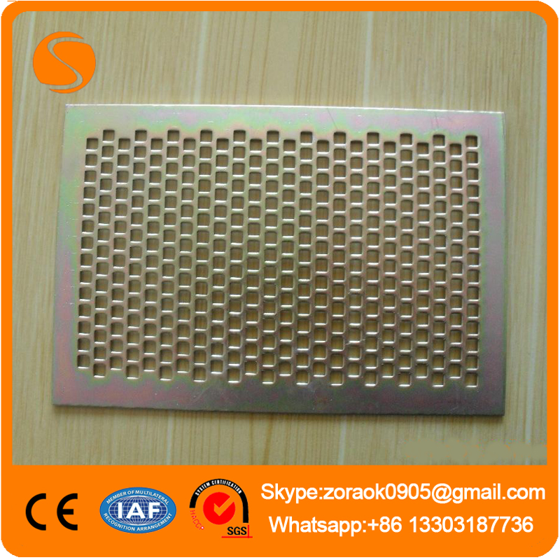 Galvanized Iron Plate Perforated Metal Mesh(Anping Xinshen Factory, 14 Years Factory, CE&ISO9001)