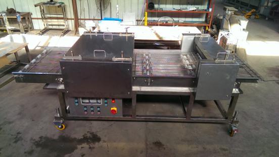 tenderizing flattening machine
