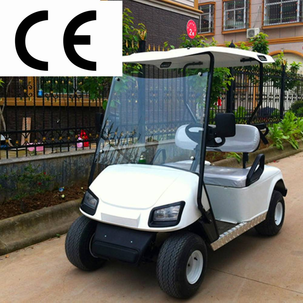 2 seats electric golf cart with CE , hot sale sightseeing bus